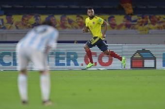Gremio confirmó la lesión de Miguel Borja. AFP