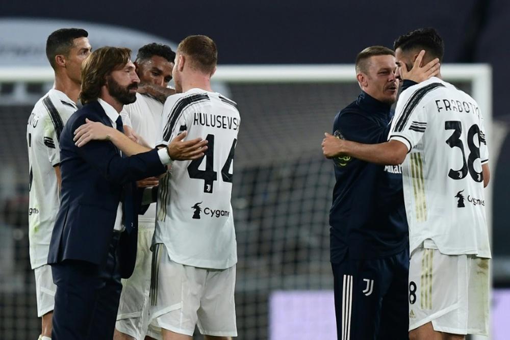 Kulusevski : Le départ de Cristiano n'est pas très perceptible. afp