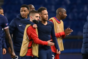 Marco Verratti defendió a Neymar de sus críticos. AFP/Archivo