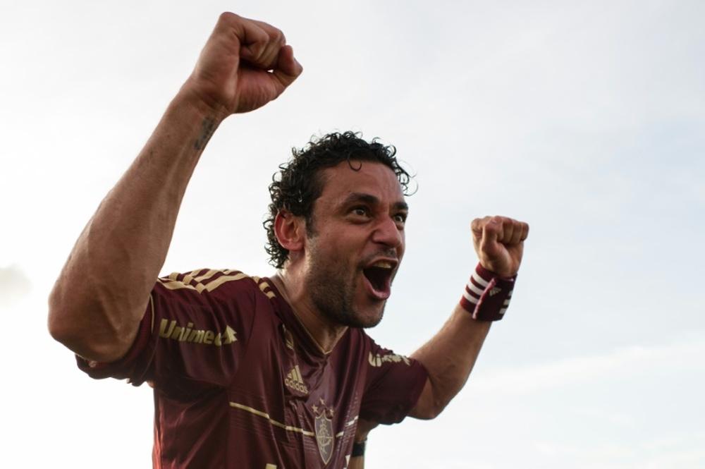 Fred, dispuesto a hacer una locura por Fluminense. AFP/Archivo