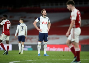Arsenal, o prato favorito de Kane. AFP