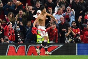 Manchester United venceu o Villarreal por 2 a 1. AFP
