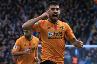 United overtake Arsenal in the race for Ruben Neves. AFP