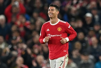 Cristiano prometió ganar títulos con el United. AFP