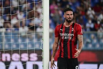 Giroud, une nouvelle fois forfait de dernière minute. AFP