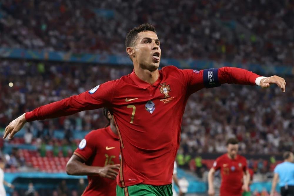 Cristiano Ronaldo falou sobre mais um recorde batido. AFP