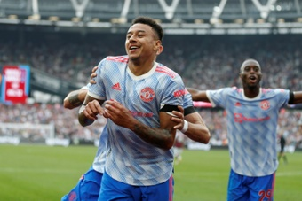Jesse Lingard could be on his way to St James' Park. AFP
