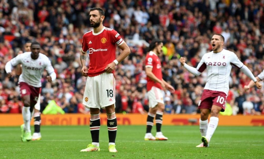 La prolongation de Bruno Fernandes, priorité de Manchester United. afp