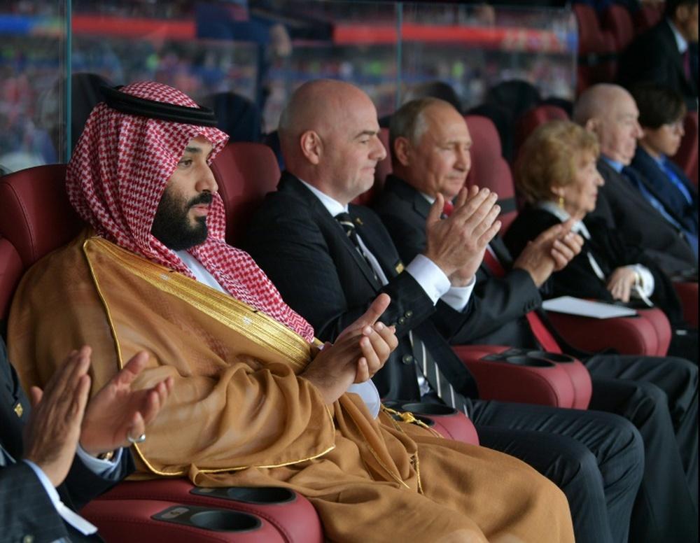 Mohammed bin Salman también quiere al club italiano. AFP
