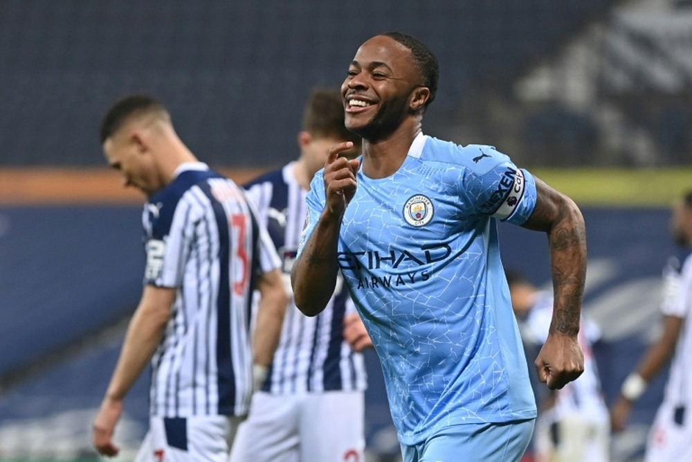 Sterling has put off a new deal after interest from Barca. AFP