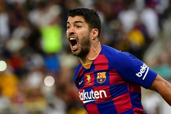 Suarz sull'addio al Barça. AFP