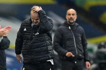 Bielsa sigue sin aceptar bien las derrotas. AFP