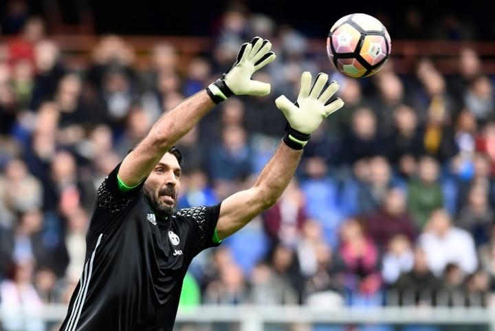 Buffon, a un paso de volver al Parma. AFP