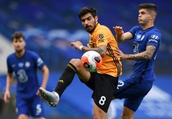 Arteta are asking Arsenal to sign Ruben Neves. AFP