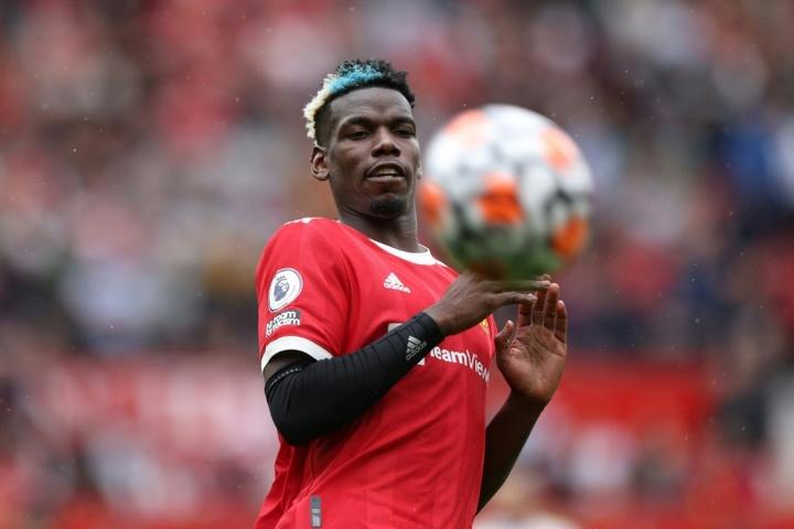 El Madrid reactiva la opción Pogba. AFP