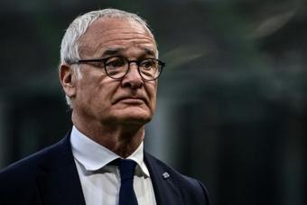 Claudio Ranieri declaró su amor por el fútbol. AFP