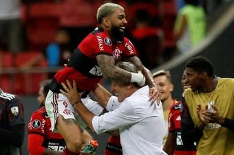 Havan patrocina a Flamengo y Paranaense en la actualidad. AFP