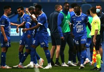 El Troyes ha dado la sorpresa y ha tumbado al Niza. AFP/Archivo
