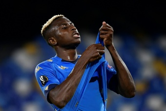 Osimhen is an option in case Real Madrid cannot get Osimhen. AFP