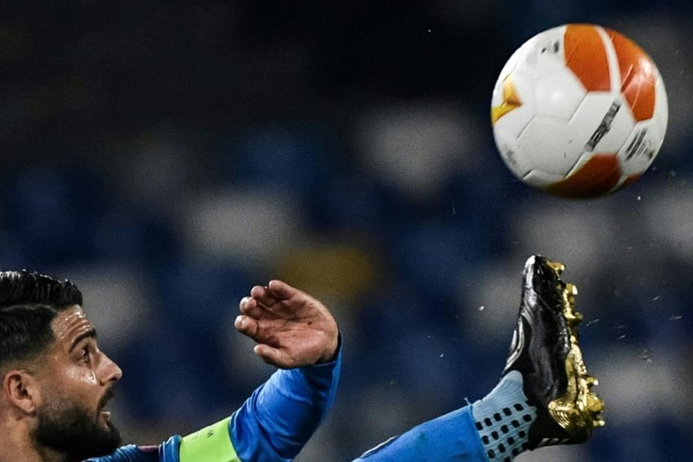Insigne acaba contrato en el Nápoles. AFP