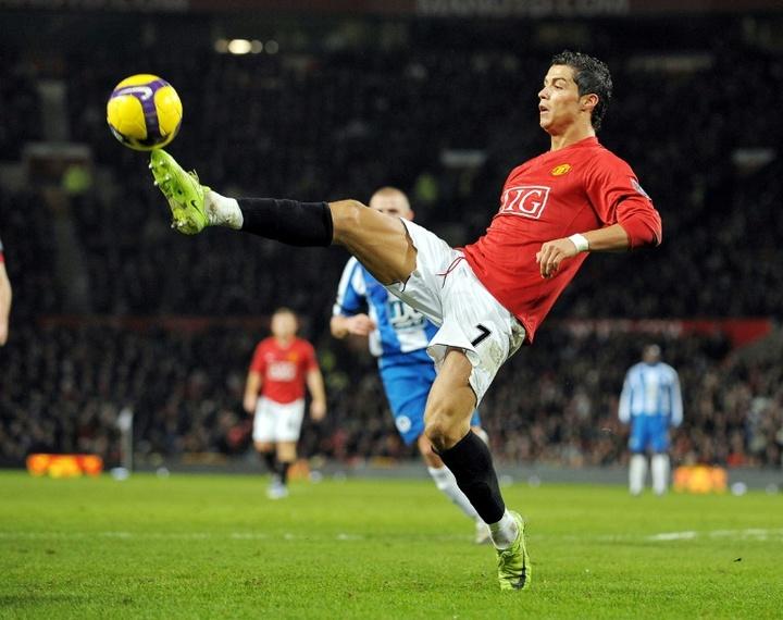 United também contratou o filho de Cristiano.AFP