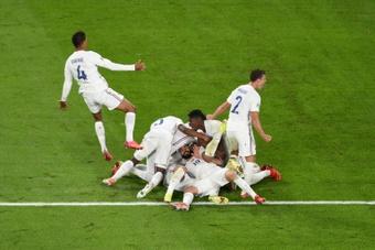 Francia pasó del 2-0 al 2-3. AFP