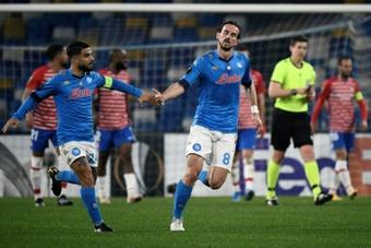 Nápoles deve-lhe 1,2 milhões de euros ao Betis.AFP