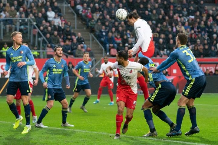 Feyenoord para na Conference League. AFP