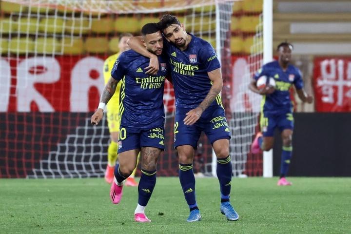 La épica del Lyon dinamita los sueños del Mónaco. AFP
