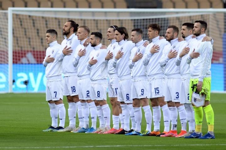 Kosovo ha ganado, para sorpresa de muchos, a Georgia en Tiflis. AFP/Archivo