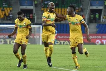 Les joueurs de l'équipe du Mali à la CAN. AFP