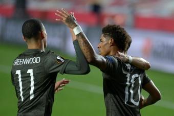 Man Utd put a date on Rashford's return. AFP