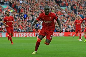 Sadio Mané à un but de la barre des 100. AFP