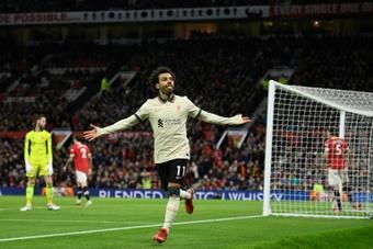 Salah devient le meilleur buteur africain de l'histoire de la Premier League. AFP