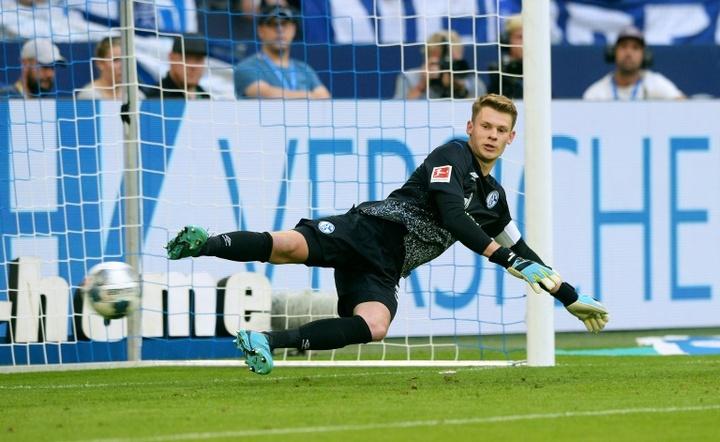 Nübel no ha podido convencer en el Bayern. AFP
