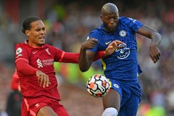 L'attaquant belge de Chelsea, Romelu Lukaku. AFP