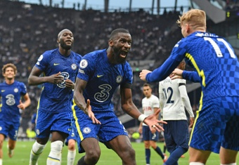 Antonio Rüdiger could leave Chelsea in June 2022. AFP