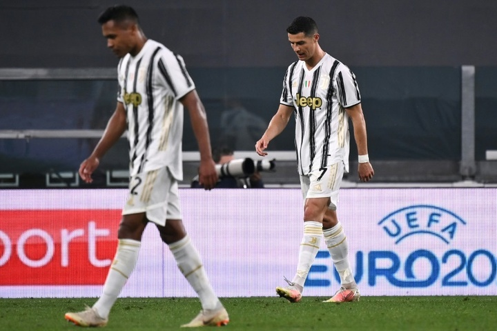 La Juventus en plein cauchemar face au Milan. AFP