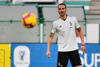 Leonardo Bonucci es titular indiscutible en la Juventus. AFP