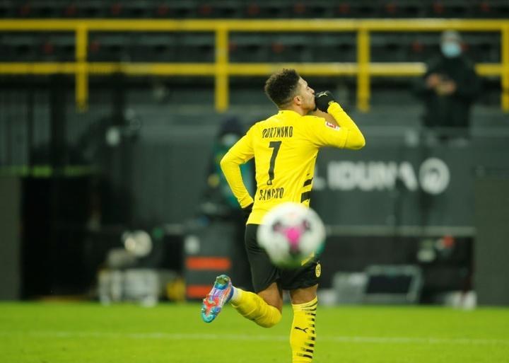 Chelsea want to sign Jadon Sancho. AFP