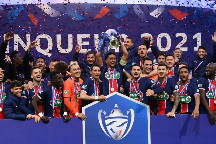 Le Paris SG conserve son trophée ! afp