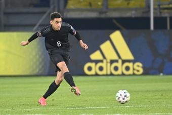 Le Bayern Munich confirme la blessure de Jamal Musiala. afp