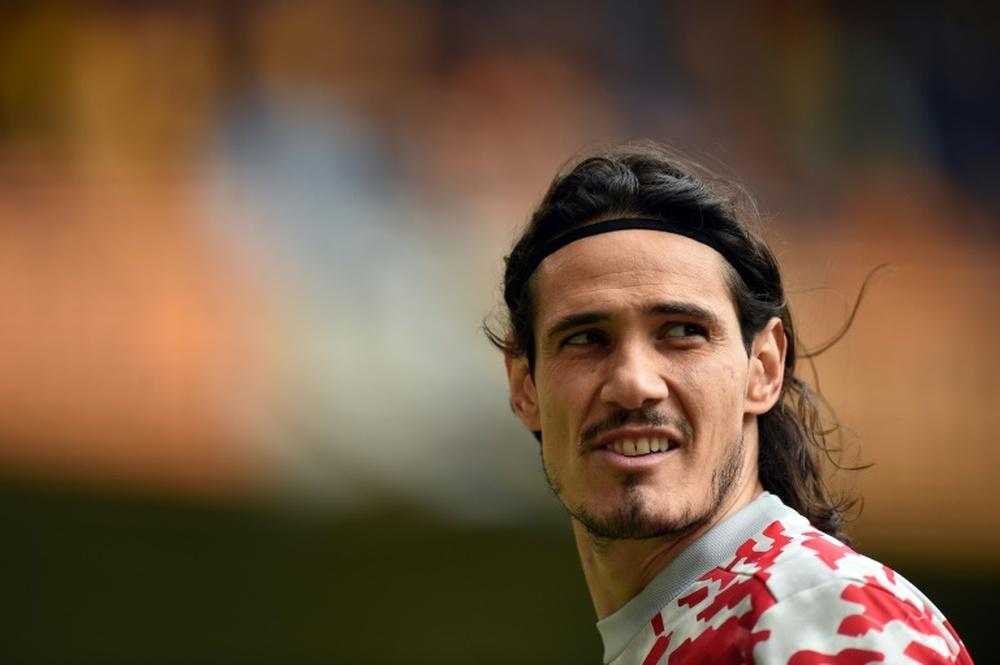 Cavani sarà assente anche contro l'Aston Villa. AFP