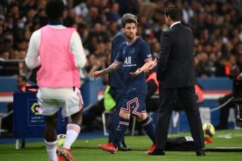 Messi y Pochettino resuelven sus rencillas. AFP