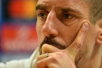 El entrenador de Ribéry, Castori, destituido. AFP