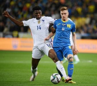 Tchouameni could start against Spain. AFP