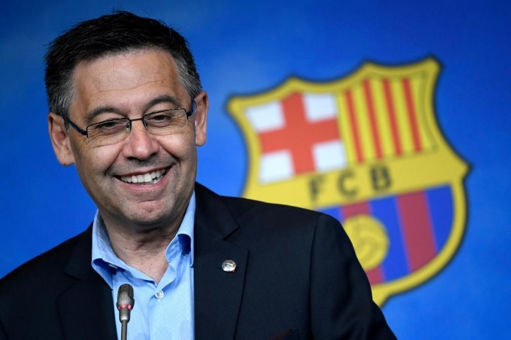 Bartomeu se ha defendido de las acusaciones contra su gestión del club. AFP/Archivo