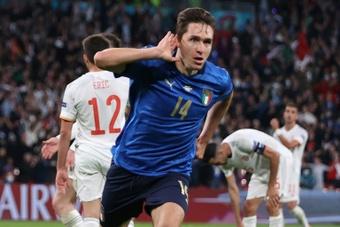 La Juve no escuchará siquiera ofertas por Chiesa. AFP