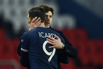 Icardi will miss PSG's CL clash. AFP