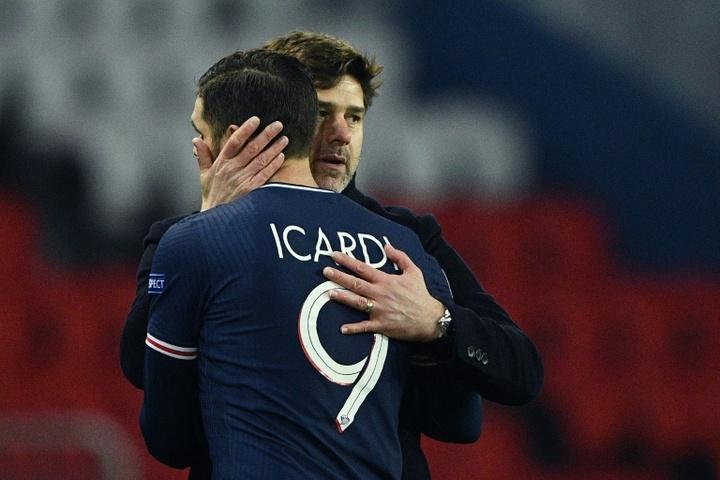 Pochettino, disgustado por lo de Icardi. AFP